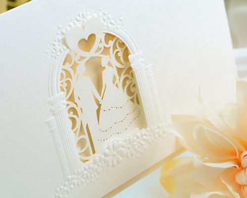 結婚式招待状(手作りキット) マルシェH(ハート) サポート画像3 (拡大)
