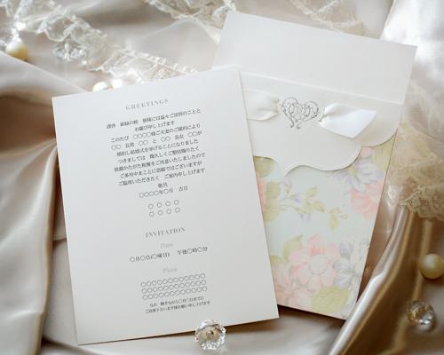 結婚式招待状(手作りキット) ブーケCL(クラシック) サポート画像3 (拡大)