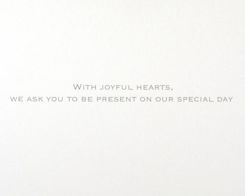 結婚式招待状(手作りキット) トレーンA サポート画像3 (拡大)