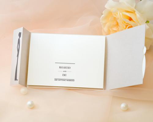 結婚式招待状(手作りキット) チェリッシュ サポート画像3 (拡大)