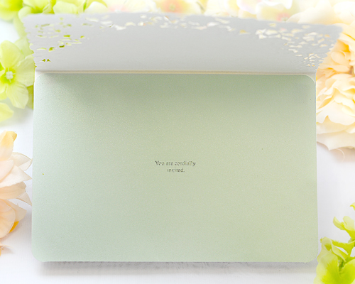 結婚式招待状(手作りキット) パティオGY(グレー)【Name on Card タイプ】 サポート画像3 (拡大)