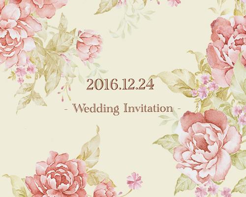 結婚式招待状(手作りキット) ノーブルBW(ブラウン)【Name on Card タイプ】 サポート画像3 (拡大)