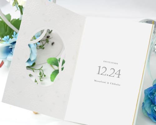 結婚式招待状(手作りキット) エルフィンA【Name on Card タイプ】 サポート画像3 (拡大)