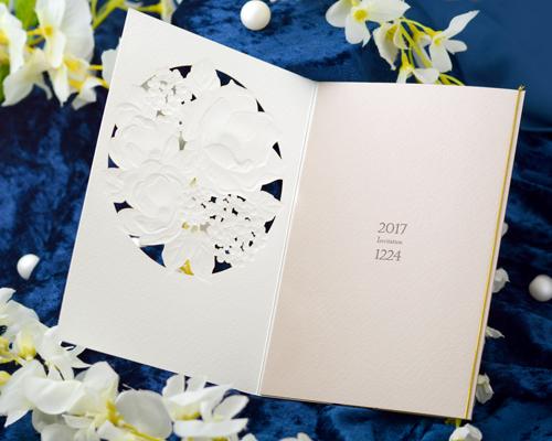 結婚式招待状(手作りキット) パルタージュA【Name on Card タイプ】 サポート画像3 (拡大)