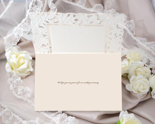 結婚式招待状(手作りキット) ジョリB【Name on Card タイプ】 サポート画像3 (拡大)