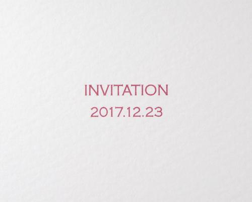 結婚式招待状(手作りキット) ベティA【Name on Card タイプ】 サポート画像3 (拡大)