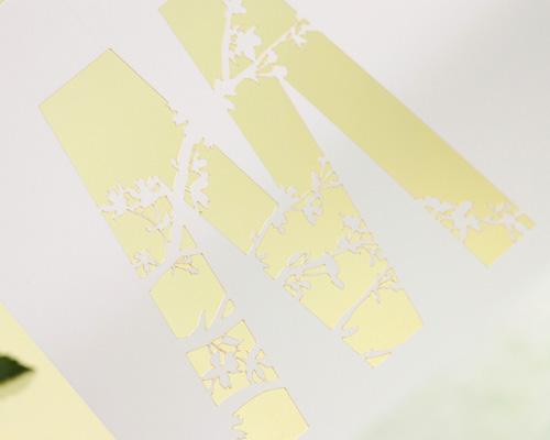 結婚式招待状(手作りキット) ナチュラル サポート画像4 (拡大)