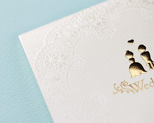 結婚式招待状(手作りキット) トワ・エ・モワ サポート画像4 (拡大)