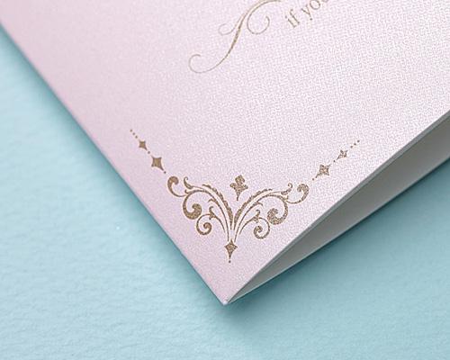 結婚式招待状(手作りキット) ドルチェ サポート画像4 (拡大)