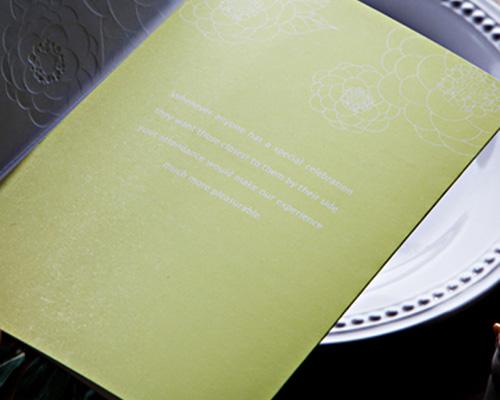 結婚式招待状(手作りキット) マカロンA サポート画像4 (拡大)