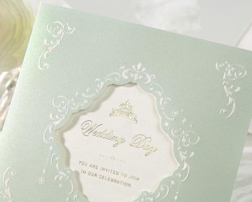 結婚式招待状(手作りキット) ヴェール サポート画像4 (拡大)