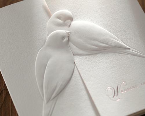 結婚式招待状(手作りキット) シャンテ サポート画像4 (拡大)