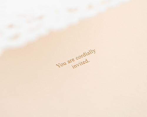 結婚式招待状(手作りキット) ジョリA サポート画像4 (拡大)