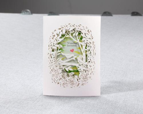 結婚式招待状(手作りキット) フォリアA サポート画像4 (拡大)