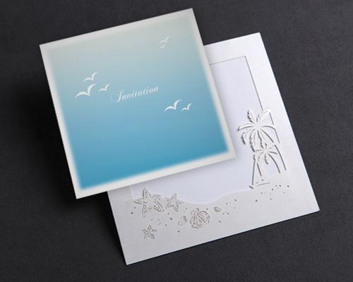 結婚式招待状(手作りキット) プラージュA サポート画像4 (拡大)