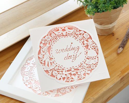 結婚式招待状(手作りキット) ラマージュA サポート画像4 (拡大)