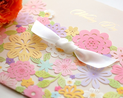 結婚式招待状(手作りキット) コローラ サポート画像4 (拡大)
