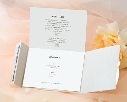 結婚式招待状(手作りキット) チェリッシュ サポート画像4 (拡大)