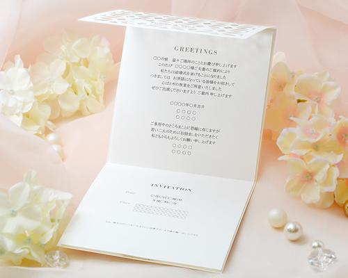 結婚式招待状(手作りキット) ヴェニーレA【Name on Card タイプ】 サポート画像4 (拡大)