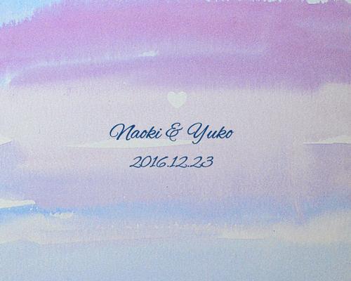 結婚式招待状(手作りキット) コクリコA【Name on Card タイプ】 サポート画像4 (拡大)
