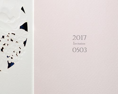 結婚式招待状(手作りキット) パルタージュA【Name on Card タイプ】 サポート画像4 (拡大)