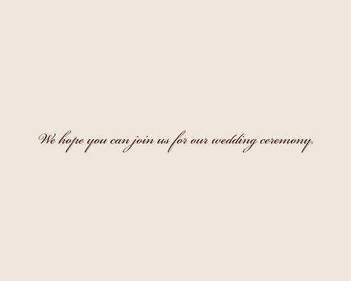結婚式招待状(手作りキット) ジョリB【Name on Card タイプ】 サポート画像4 (拡大)