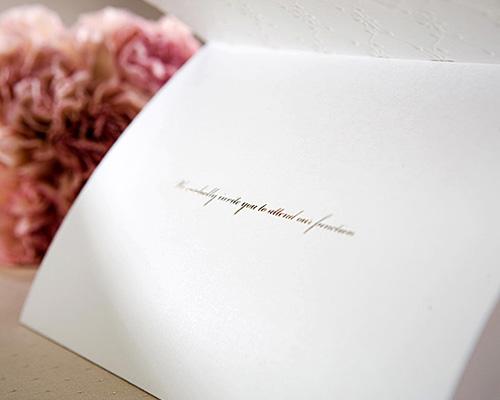 結婚式招待状(手作りキット) ブローダリーC サポート画像5 (拡大)