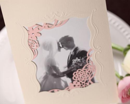 結婚式招待状(手作りキット) メモリーズP(ピンク) サポート画像5 (拡大)