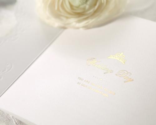 結婚式招待状(手作りキット) ヴェール サポート画像5 (拡大)