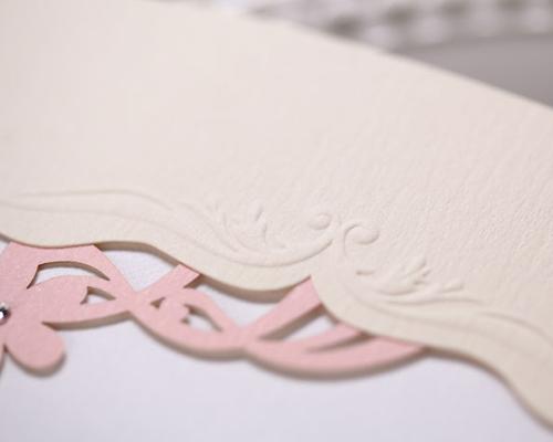結婚式招待状(手作りキット) メモリーズP(ピンク) サポート画像6 (拡大)