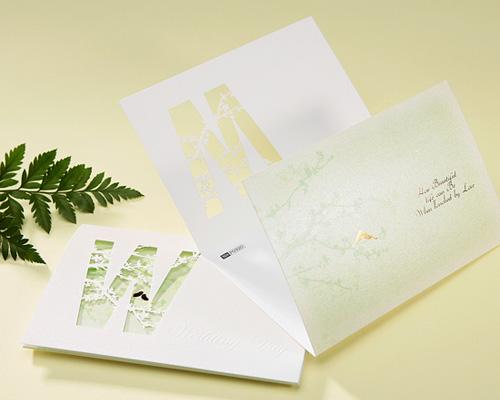 結婚式招待状(手作りキット) ナチュラル サポート画像7 (拡大)