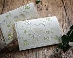 結婚式招待状(インポートカード) ラ・フルールW(ホワイト)