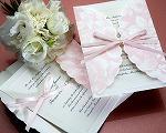 結婚式招待状(インポートカード) ギフトP(ピンク)