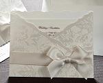 結婚式招待状(インポートカード) ジャパネスクW(ホワイト)