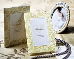 結婚式招待状(インポートカード) アダージョG(ゴールド)