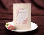 結婚式招待状(手作りキット) メモリーズP(ピンク)