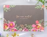 結婚式招待状(手作りキット) ブロッサムP