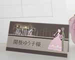 席札 ハーモニー(大阪道頓堀)(12名セット)