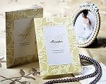 結婚式招待状(印刷込み) アダージョG(ゴールド)
