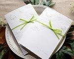 結婚式招待状(印刷込み) マカロンA