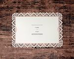 結婚式招待状(印刷込み) クロッシェA