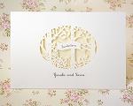結婚式招待状(印刷込み) フォリアB【Name on Card タイプ】