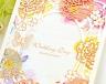 結婚式招待状(手作りキット) フラワリー サポート画像1