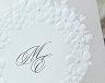 結婚式招待状(手作りキット) フェリチタGY(グレー)【Name on Card タイプ】 サポート画像1