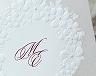 結婚式招待状(手作りキット) フェリチタWR(ワインレッド)【Name on Card タイプ】 サポート画像1