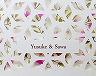 結婚式招待状(手作りキット) ヴェニーレA【Name on Card タイプ】 サポート画像1