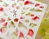 結婚式招待状(手作りキット) チューリップA【Name on Card タイプ】 サポート画像1