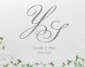結婚式招待状(手作りキット) パティオGY(グレー)【Name on Card タイプ】 サポート画像1