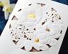 結婚式招待状(手作りキット) パルタージュA【Name on Card タイプ】 サポート画像1