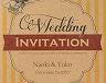 結婚式招待状(手作りキット) トリニティA【Name on Card タイプ】 サポート画像1